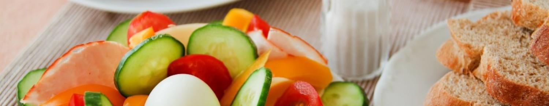 Salade concombre, radis et feta