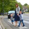 L'enfant à pied