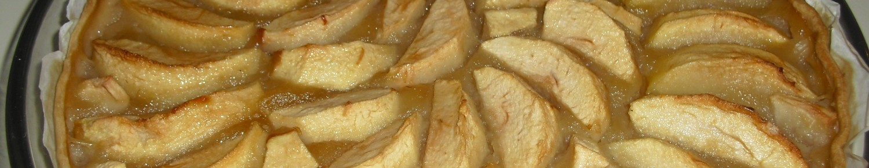 Tarte compote et pommes