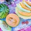 Salade fraîche aux 3 melons