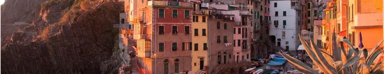 Le village de Riomaggiore en Italie